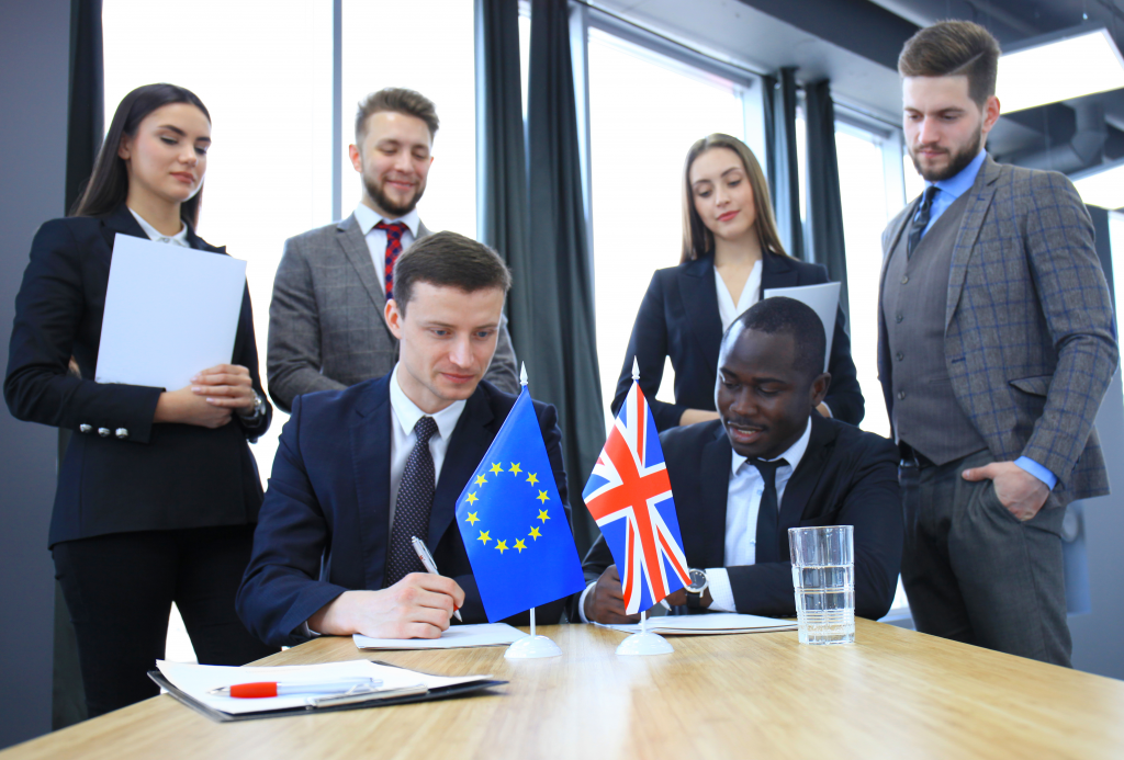 attending business meetings in the EU